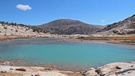 Lower Conness Lake and the Tioga Crest