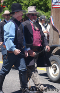 Pioneers; 4th of July Parade in Truckee.