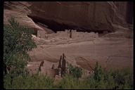White House ruin, Canyon de Chelly National Monument, Arizona, USA