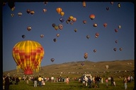 Reno balloon race, launch site