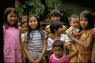Philippine children, Republic of the Philippines, 1973