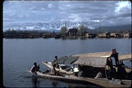 Boats in Kashmir, India, 1980