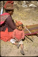 Indigineous people--weaving