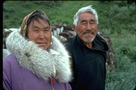 Indigineous people--Eskimo couple