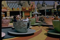 Mad Tea Party ride in Fantasyland