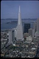 View of Transamerica Building from Crown Room, San Francisco, San Francisco County