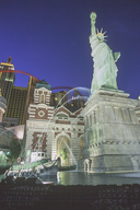 Statue of Liberty at the New York, New York Hotel in Las Vegas