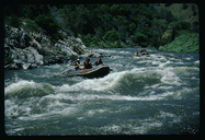 Rafting on the Merced River, California