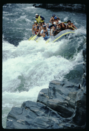 Rafting on the American River, California