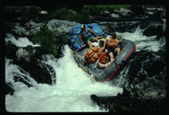 Rafting on the Rogue River, Oregon