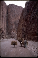 Berber in the Todra Gorge, Morocco