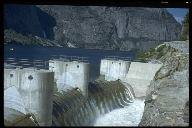 O'Shaunessy Dam. Charles Webber © California Academy of Sciences