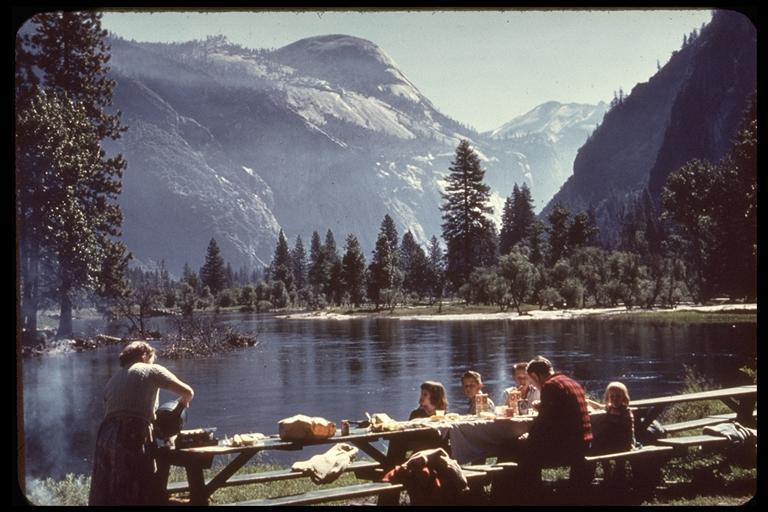 Yosemite National Park, Rocky Point. Charles Webber © California Academy of Sciences