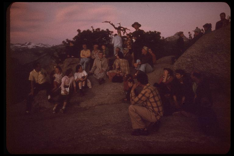 Sunset at Glacier Point, Yosemite National Park. Charles Webber © California Academy of Sciences